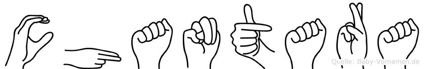 Chantara in Fingersprache für Gehörlose