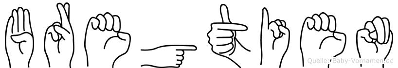 Bregtien in Fingersprache für Gehörlose