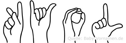 Kyol in Fingersprache für Gehörlose
