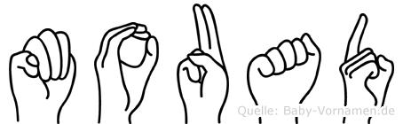 Mouad im Fingeralphabet der Deutschen Gebärdensprache