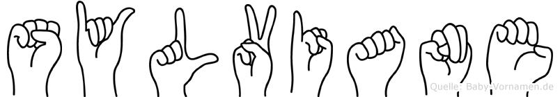 Sylviane im Fingeralphabet der Deutschen Gebärdensprache