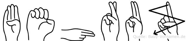 Behruz in Fingersprache für Gehörlose