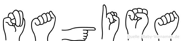 Nagisa in Fingersprache für Gehörlose