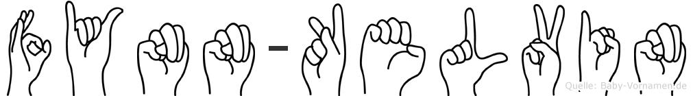 Fynn-Kelvin im Fingeralphabet der Deutschen Gebärdensprache