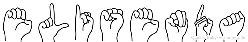 Elisenda in Fingersprache für Gehörlose