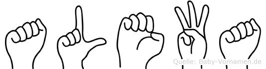Alewa in Fingersprache für Gehörlose