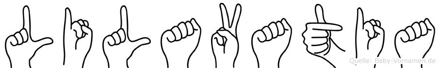 Lilavatia in Fingersprache für Gehörlose