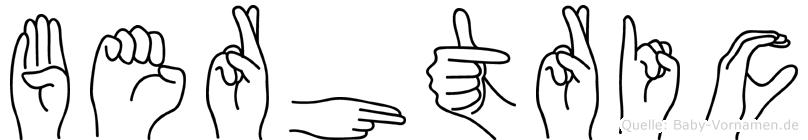 Berhtric in Fingersprache für Gehörlose