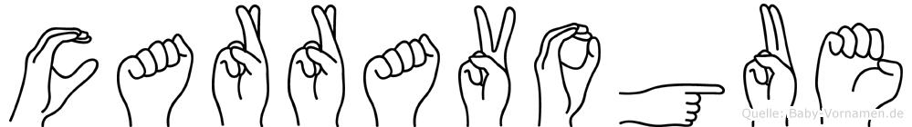 Carravogue in Fingersprache für Gehörlose