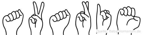 Avarie in Fingersprache für Gehörlose