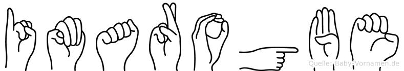 Imarogbe in Fingersprache für Gehörlose