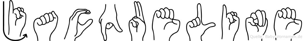 Jacqueline in Fingersprache für Gehörlose