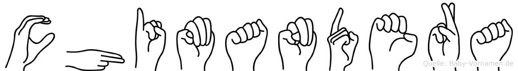 Chimandera in Fingersprache für Gehörlose