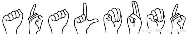 Adalmund in Fingersprache für Gehörlose