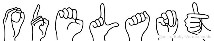 Odelant in Fingersprache für Gehörlose