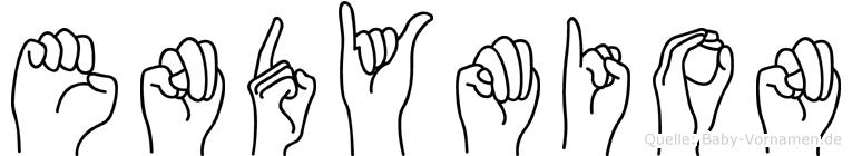 Endymion in Fingersprache für Gehörlose