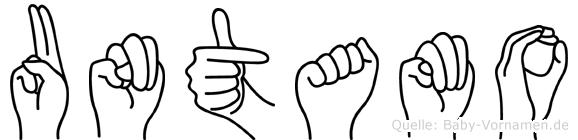 Untamo in Fingersprache für Gehörlose