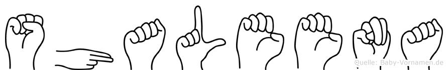 Shaleena in Fingersprache für Gehörlose