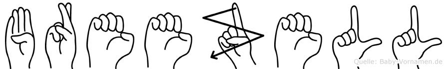 Breezell in Fingersprache für Gehörlose
