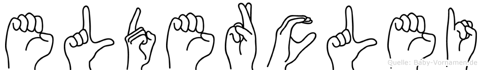 Elderclei in Fingersprache für Gehörlose