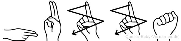 Huzza in Fingersprache für Gehörlose