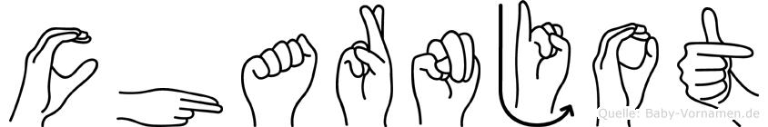 Charnjot in Fingersprache für Gehörlose