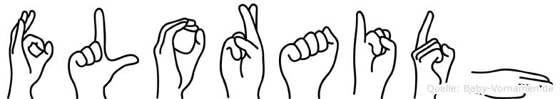 Floraidh in Fingersprache für Gehörlose