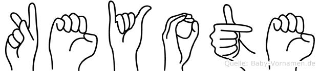 Keyote in Fingersprache für Gehörlose