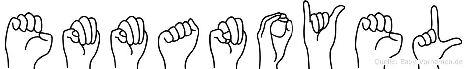 Emmanoyel in Fingersprache für Gehörlose