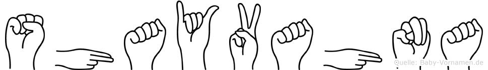 Shayvahna in Fingersprache für Gehörlose