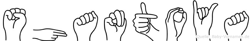 Shantoya in Fingersprache für Gehörlose