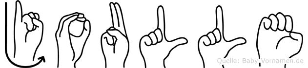 Joulle in Fingersprache für Gehörlose