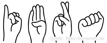 Ibra in Fingersprache für Gehörlose
