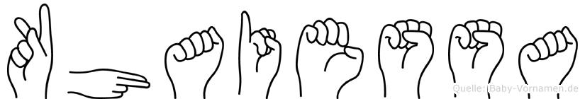 Khaiessa in Fingersprache für Gehörlose