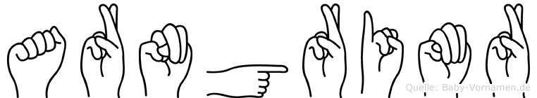 Arngrimr in Fingersprache für Gehörlose