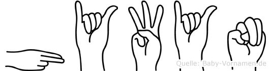 Hywyn in Fingersprache für Gehörlose