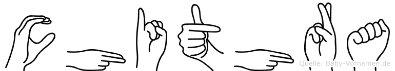 Chithra in Fingersprache für Gehörlose