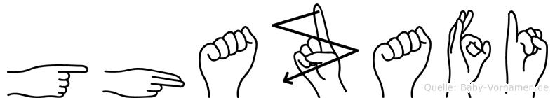 Ghazafi in Fingersprache für Gehörlose