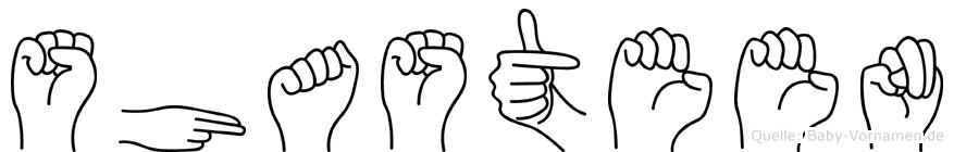 Shasteen in Fingersprache für Gehörlose