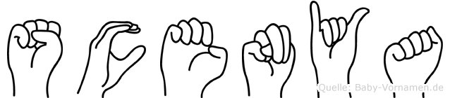 Scenya in Fingersprache für Gehörlose
