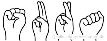 Sura in Fingersprache für Gehörlose