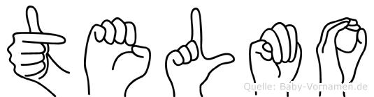 Telmo in Fingersprache für Gehörlose