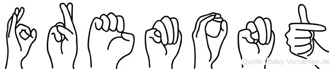 Fremont in Fingersprache für Gehörlose
