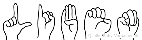 Liben in Fingersprache für Gehörlose