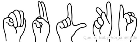 Mulki in Fingersprache für Gehörlose