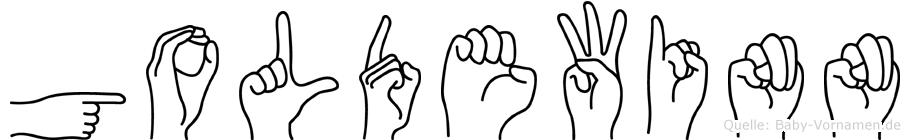 Goldewinn in Fingersprache für Gehörlose