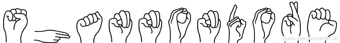 Shannondore in Fingersprache für Gehörlose