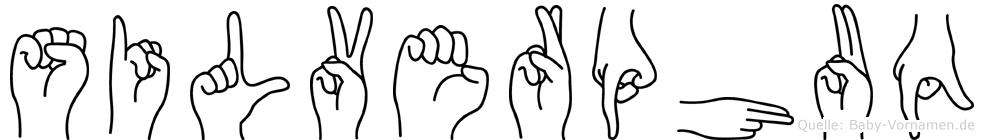 Silverphuq in Fingersprache für Gehörlose