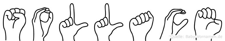 Sollace im Fingeralphabet der Deutschen Gebärdensprache
