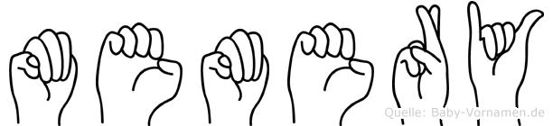 Memery in Fingersprache für Gehörlose